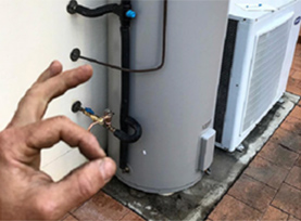 Palm Beach hot water